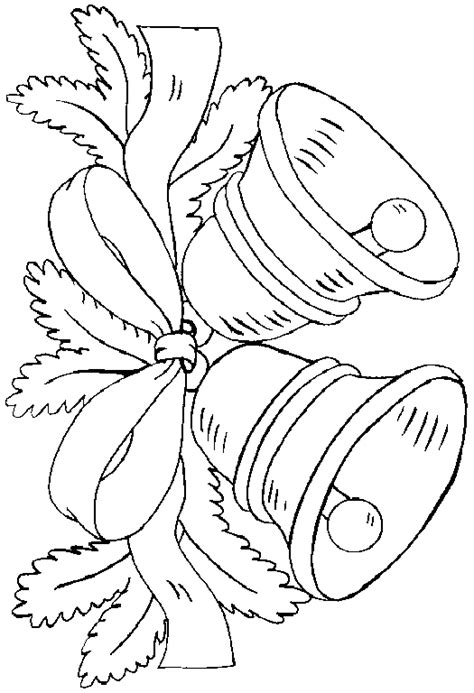 Bell Coloring Pages Coloringpagesabc Com Bell Coloring Pages