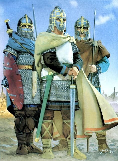 anglo saxon warriors in vikings and braveheart vikingstv