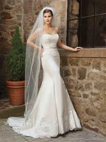 satin trumpet wedding dresses 2011 wedding dresses from kathy ireland by 2be