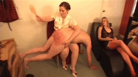 Erotic f m spanking #7