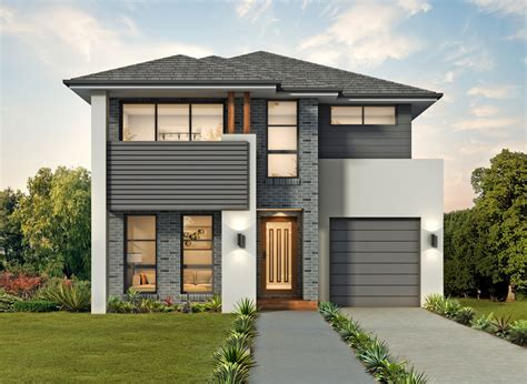 narrow lot homes chion homes home builders sydney
