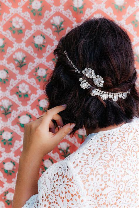 Diy Vintage Wedding Hair Accessories by Un Fond D 233 Cran De Mariage Hd Diy Page 3 De 3