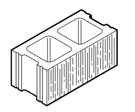 Decorative Concrete Masonry Units by Wirecut Striated Units