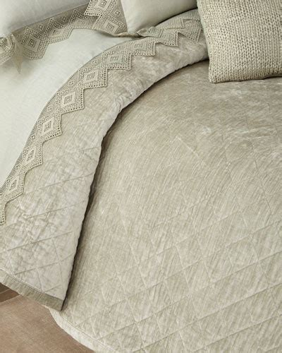 Cotton Velvet Quilt by Cotton Velvet Bedding Horchow