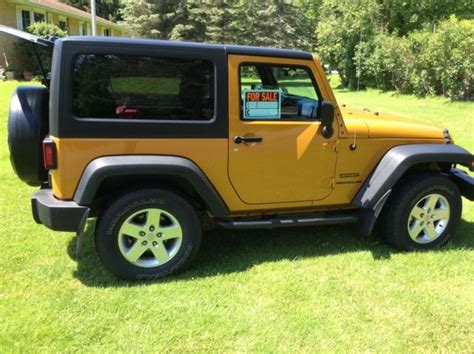 Jeep Owners Manual 2014 Jeep Wrangler Sport 2014 Manual Trans Freedom Top