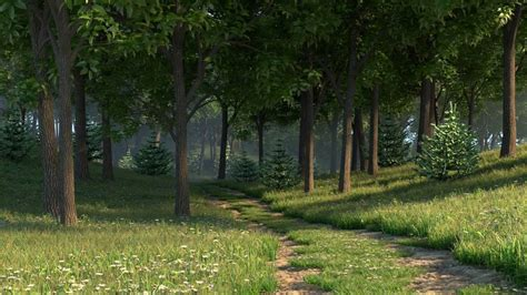 forest render v ray for 3ds max quick tutorial gpu forest pack