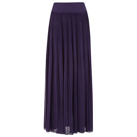 buy kaliko pleated maxi skirt at lewis