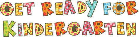 how to get ready for a one place get ready for kindergarten one place