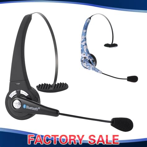 bluetooth headset for mobile phones trucker boom mic headphone wireless bluetooth
