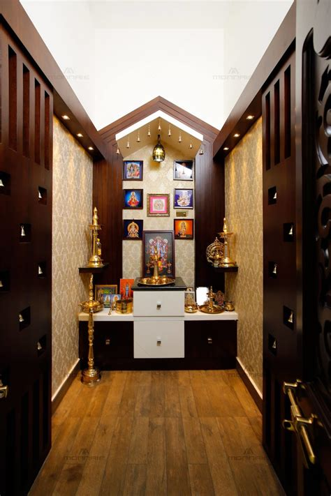 wooden pooja mandir designs  homes traditional