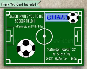 printable soccer invitation templates 7 best images of soccer ticket invitations templates free