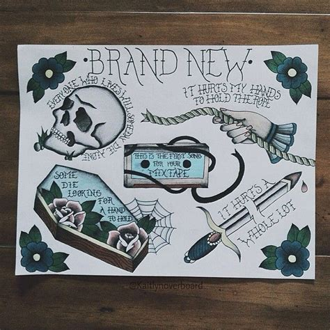 brand new band tattoos best 25 brand new tattoos ideas on brand new
