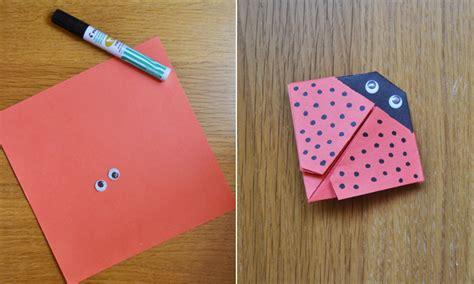 manualidades navide241as faciles de hacer manualidades f 225 ciles c 243 mo hacer una mariquita de papel foto