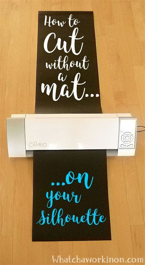 10 By 10 Vinyl Mat - how to cut vinyl up to 10 on your silhouette