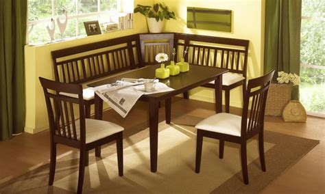 corner dining room table salem 6 pc breakfast nook dining room set table corner