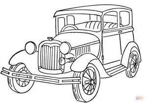 coloring page of model t car ford model a coloring page free printable coloring pages