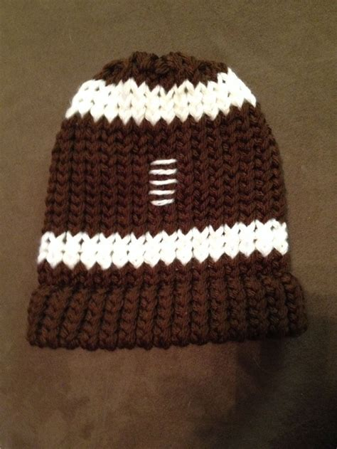 loom knit beanie football beanie loom knit the easy way loom knitting