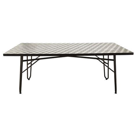 ceramic table l table de salle 224 manger en m 233 tal l 200 ceramic maisons