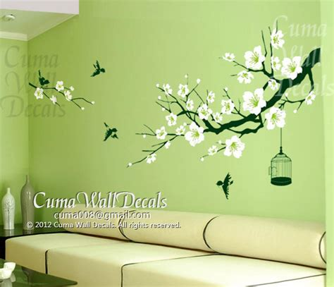 cherry blossom tree wall decal for nursery nursery wall decal cherry blossom tree cuma wall decals