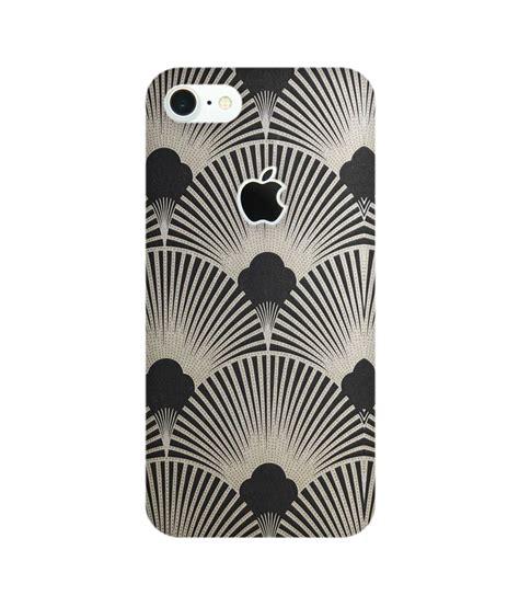Garskin Oppo F1s Black Matte Logo Apple Gold Chrome 3m Ori Usa5 black pattern phone for iphone 7 apple cut chakri