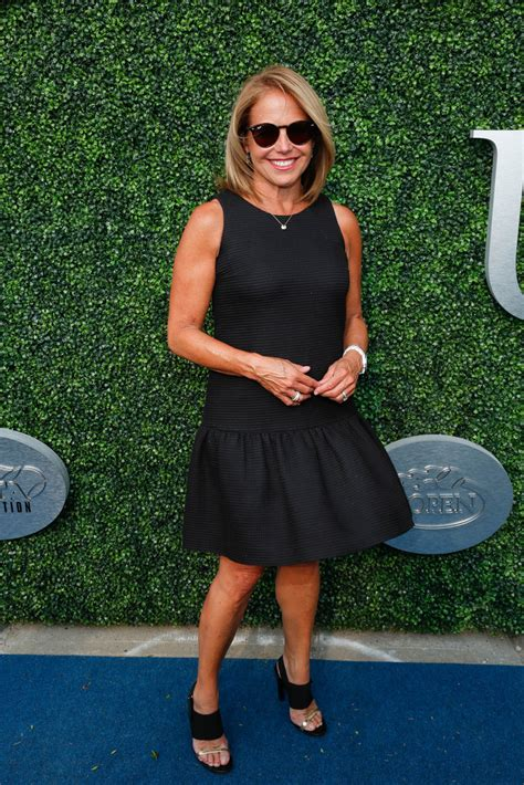 katie couric recent photos katie couric photos photos 15th annual usta opening