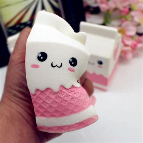 Squishy Murah Pink Biru Jumbo Rising squishy jumbo pink milk bottle box 11cm rising soft collection gift decor sale