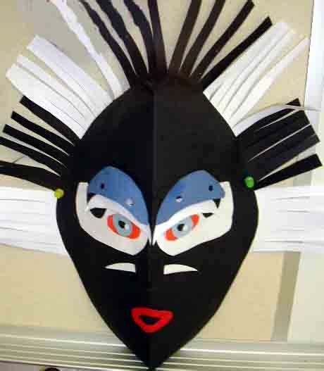 Make A Paper Mask - 25 unique mask ideas on picasso style