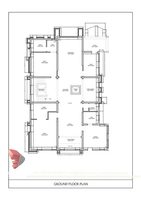 house layout dwg simple house plan drawing draw floor plans free house