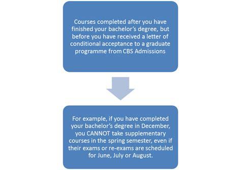 2 supplementary application graduate admission cbs copenhagen business school