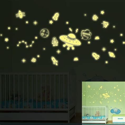 glow in the dark home decor fluorescent stars glow in the dark home decor luminous