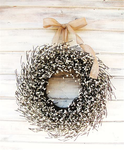 Winter Door Wreaths by Fall Wreath Fall Door Wreaths Burlap Antique