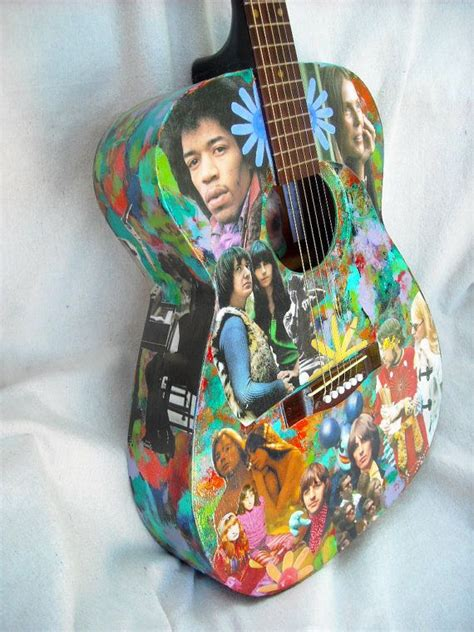 how to decoupage a guitar discover and save creative ideas