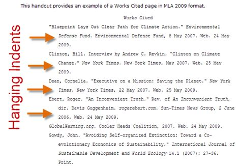 apa works cited template apa reference page purdue owl library hack hanging
