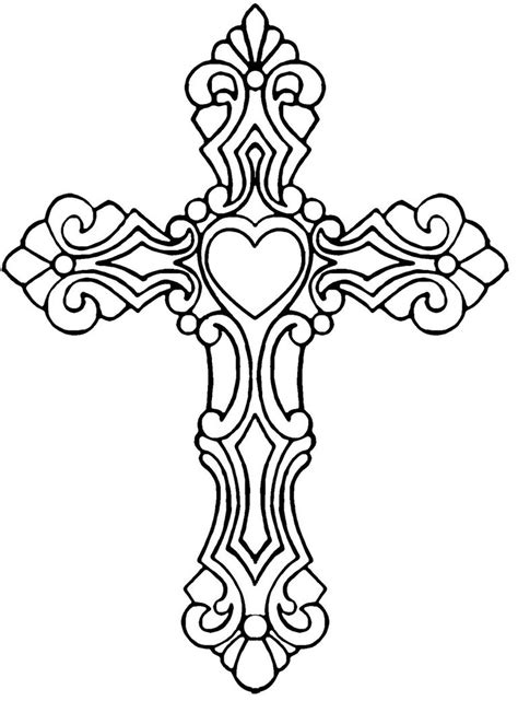 coloring pages for adults crosses cross coloring pages with jesus coloringstar