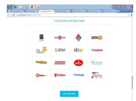 bookmyshow revenue revenue model of paytm