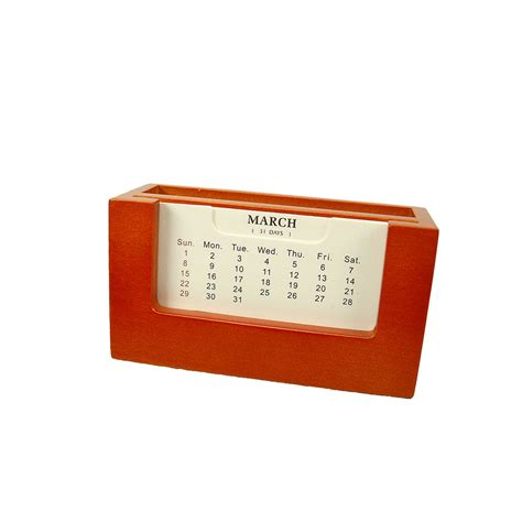 Standing Desk Calendar With Small Picture Frame 3 1 4 Quot X Small Desk Calendar