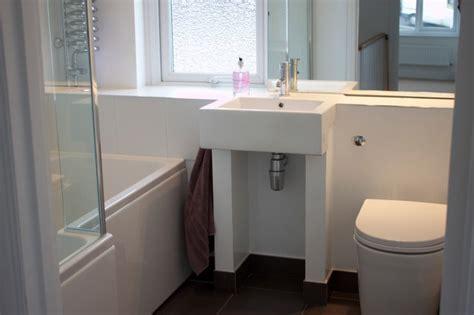 1930 bathroom design refurbishment of 1930s semi modern bathroom other by oasys property solutions