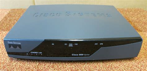 Router Cisco 800 Series cisco 800 series cisco 877 integrated services router