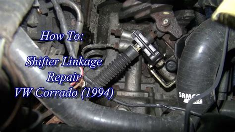 how to fix cars 1994 volkswagen jetta spare parts catalogs vw corrado shifter linkage repair youtube