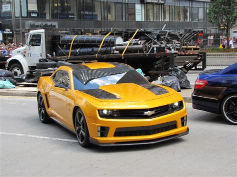 Bumblebee Chevrolet Chevrolet Camaro Bumblebee News4cars