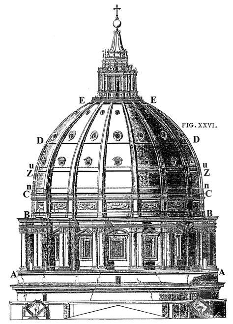 altezza cupola di san pietro la sfida della cupola in quot il contributo italiano alla