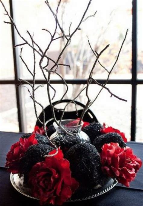 creative halloween wedding centerpiece ideas  autumn