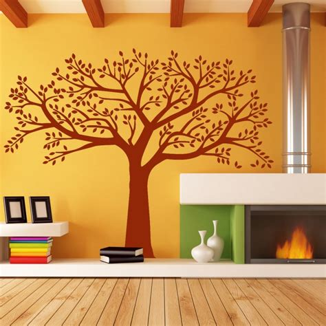 tree wall decals for living room wall stickers for living room big tree by artollo