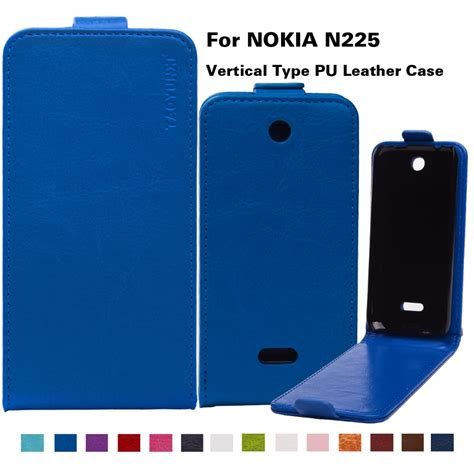 casing nokia n225 by zossy ppc 14 colors in stock bags business style flip pu leather