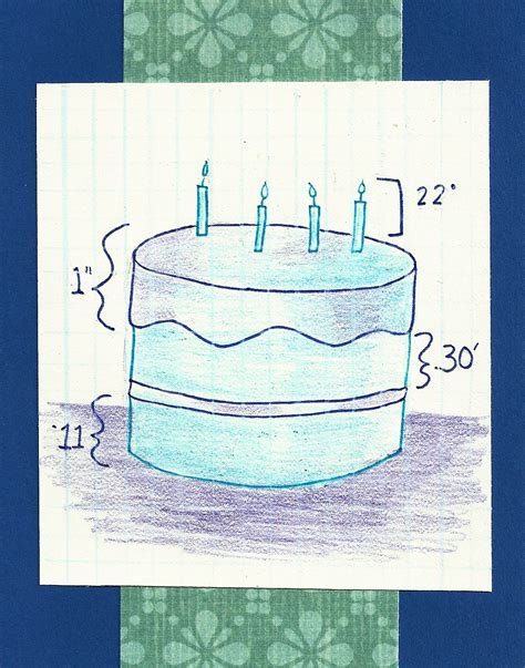 Debbie Dots Greeting Card Blog: Architecture Birthday Cake