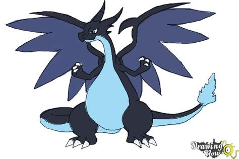Charizard Y Drawing by How To Draw Mega Charizard X Drawingnow
