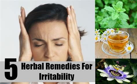 mood swings and irritability herbs for irritability