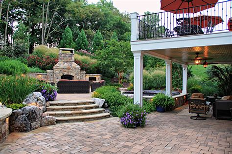 Outdoor Patio Pics by Custom Work Built In Spa Fireplace Surrounds