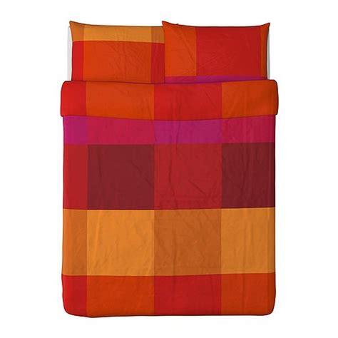Ikea Cotton Duvet Covers Ikea Brunkrissla Queen Full Duvet Cover Pillowcases Set