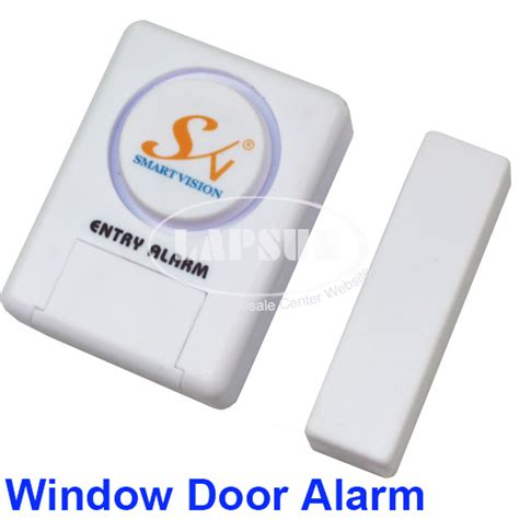Door Window Entry Alarm Mini Gembok Alarm Pintu Jendela Sernaguna mini magnetic window door guard home secuity burglar alarm